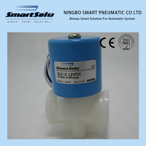 100% Test High Quality Two Way Plastic Solenoid Valve