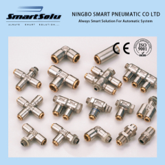 Metal brass or stainless steel Pneumatic Fittings