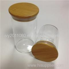 Cylinder Glass Candy Storage Jars