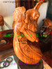 Zitan Buddha Sculpture-Yellow pear valued for collection