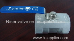 1-PC STAINLESS STEEL BALL VALVE