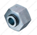 Hydraulic fitting and Adapter made by Carbon Steel 9C 9D
