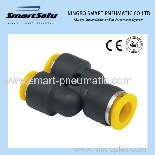 High quality three way Pneumatic Fittings