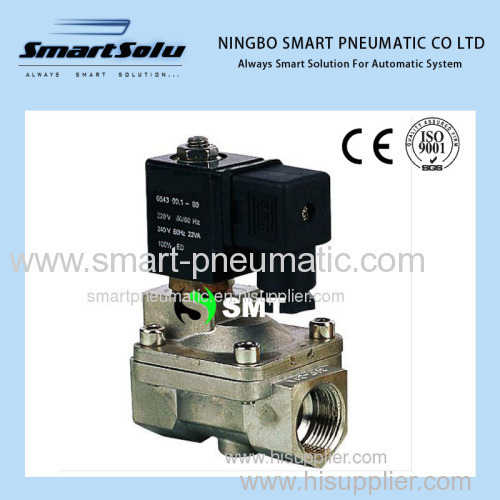 SLP-B Stainless Steel 2/2 Piston pilot operated valve