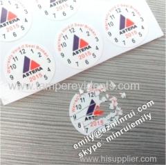 Warranty Sticker Void If Tampered Or Broken