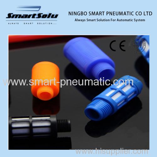 pneumatic muffler plastic silencer