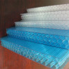 XINHAI 8-12mm Lake Blue Honeycomb Four Walls Polycarbonate Sheet/polycarbonate roofing sheets