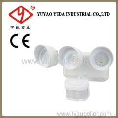 36W outdoor wet location security lamp