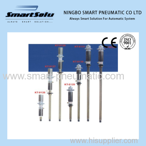 Air lubricator for oil