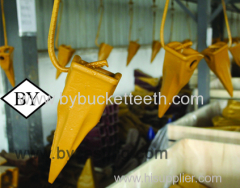 Exca vator bucket teeth types CAT Tiger Tooth