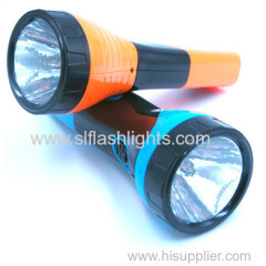 Plastic Rechargeable Flashlight Light China