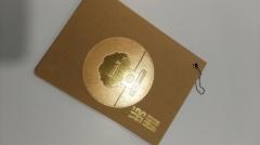 Пользовательский дизайн текстура древесины бумага без покрытия черный доска обложка книги с металлическим кольцом печати