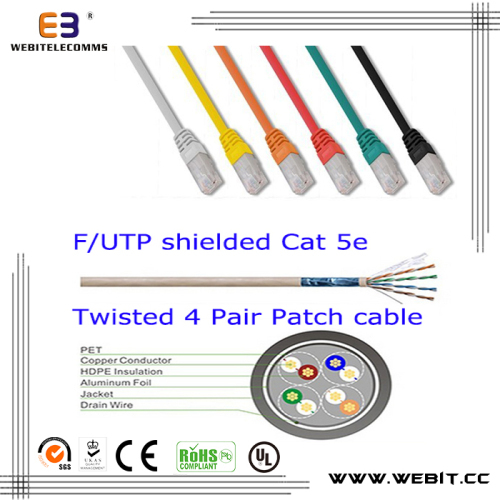 F/UTP CAT5e patch cord/patch cable