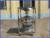 Mobile silo vibration sieve Vibro-sieve Screening/sifting/filtering Vibrating Sifting Machine