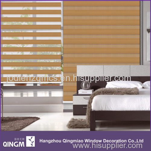 QINGM Sunscreen Fabric 7-Folded Zebra Blind Fabric In Office Window Shading Useful