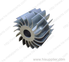 Metal pump parts process investment casting