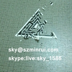 eggshell graffiti stickers/destructible lable/graffiti eggshell