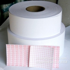 Professional Manufacturer Self Adhesive Vinyl Label Paper Fragile Papers Destructible Label Sticker Papers In Rolls