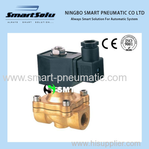 Direct acting Normally Open solenoid valve