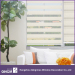 Simple Stripe Pattern Zebra Blind Customized For Bedroom Window Shading