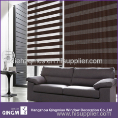 The Good Shade Of The Linen Imitation Zebra Blind
