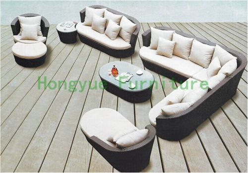 Wicker rattan sofa set furniture rattan outdoor furniture