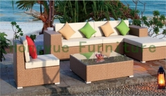 Wicker material sofa set furniture rattan outdoor sofa furniture