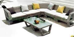 Rattan wicker sofa set furniture from China rattan outdoor furniture