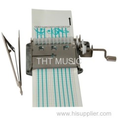 30 Note Creat Your Own Songs Hand Operated Music Box Kit