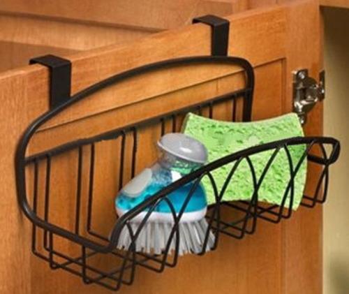 Small Metal Basket for Twist Over the Cabinet Door