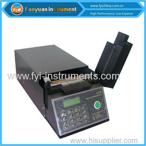 Photo-Electric Fiber Length Meter