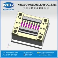 surgical scalpel body or cover plastic injection moulds