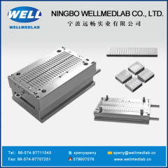 two parts syringe Plunger plastic injection moulds
