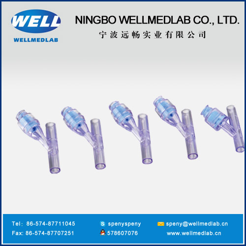 three way body inject site plastic injection molds
