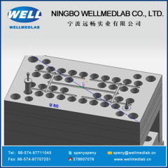 two way connector plastic injection molds