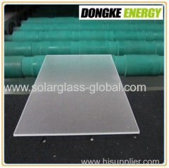 double AR coating solar tempered glass