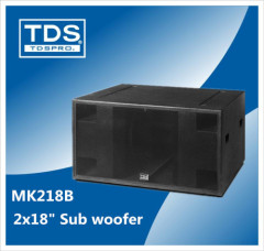 high performance Public Entertainment woofer box Outdoor sound for Event