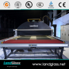 LD-AB AirStream Flat&bent Bi-direction Glass Tempering Furnace