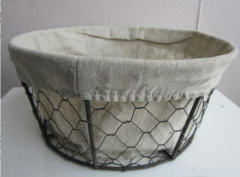 Metal Wire Basket for cookie and pancake storage