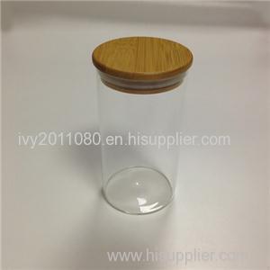 Straight Side Glass Jars