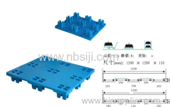 NEW MATERIAL PLASTIC PALLET STATIC LOAD 1.2T