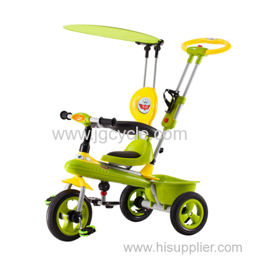 BABY LUXURY TRICYCLE RUBBER/AIR TIRE