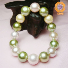 wholesale custom south sea shell pearl bracelet
