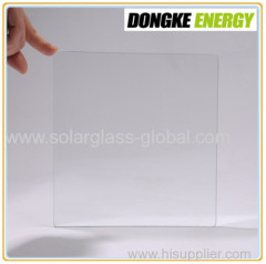 Low iron self cleaning tempered solar glass 4.0mm