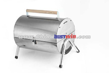 CHEAP PORTABLE STAINLESS STEEL BBQ CHARCOAL GRILL