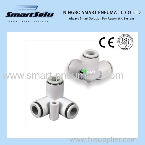 SMC Style Pneumatic Fittings Plastic Fittings