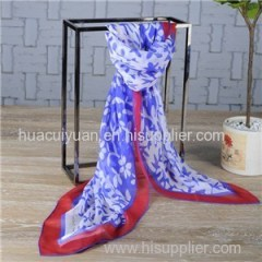 Custom Print Silk Shawl Supplier
