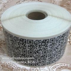 Factory Price Anti-counterfeit Barcode QR Code Adhesive Sticker Die Cut Vinyl Qr Code Sticker For Packaging