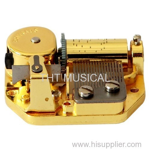 18 NOTE CYLINDER MUSIC BOX MOVEMENTS