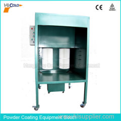 Powder Painting Manual Booth